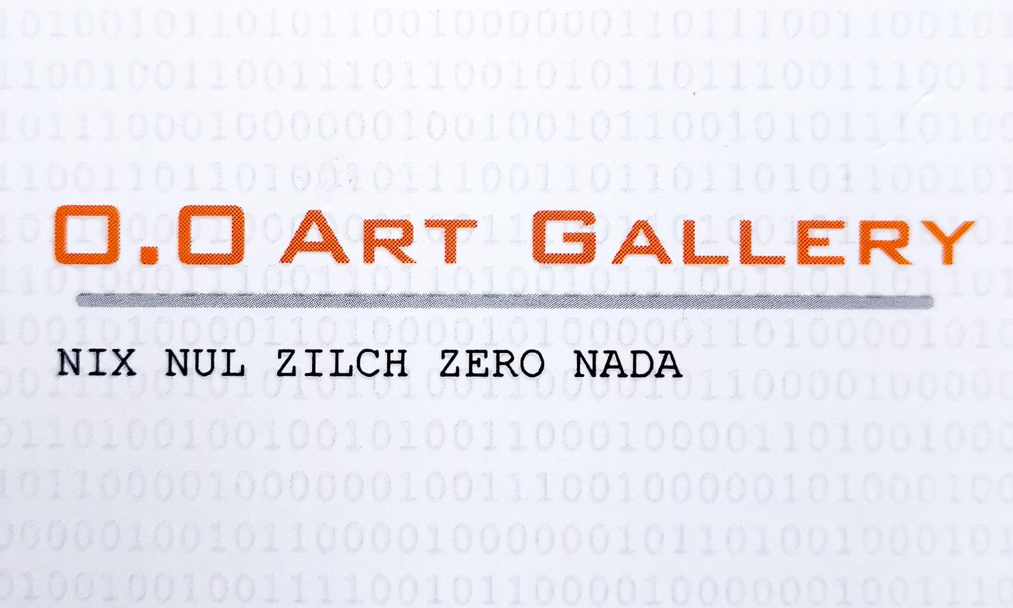 0.0 Art Gallery